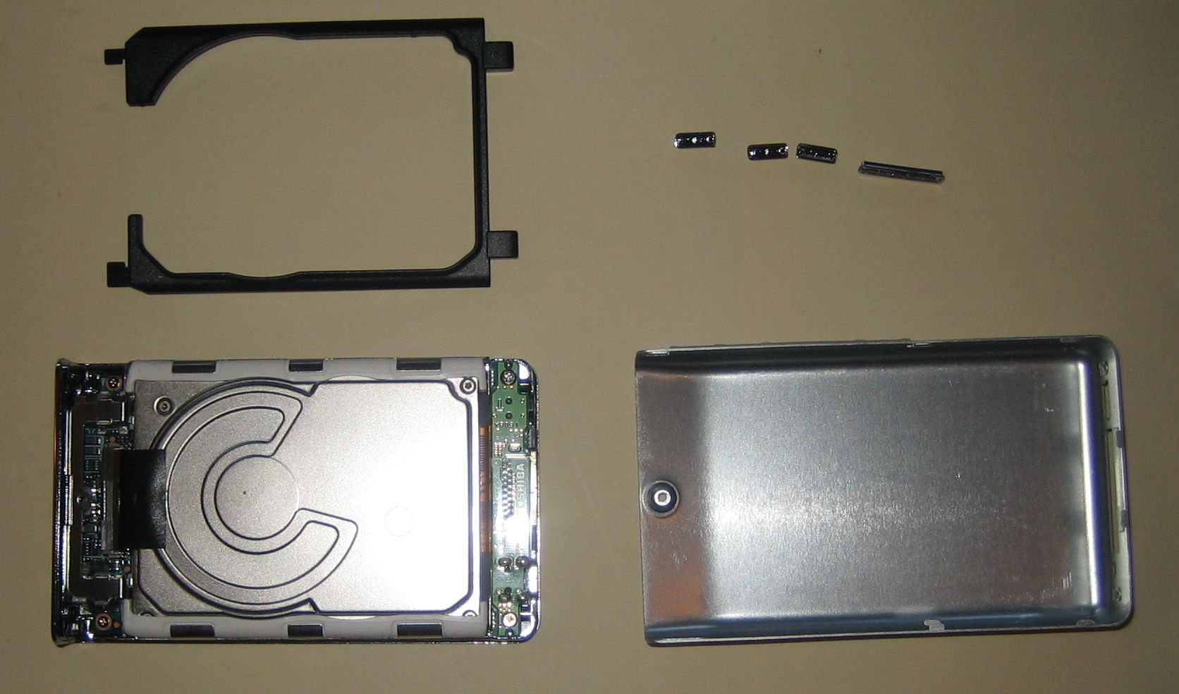X60 Back Cover Removed