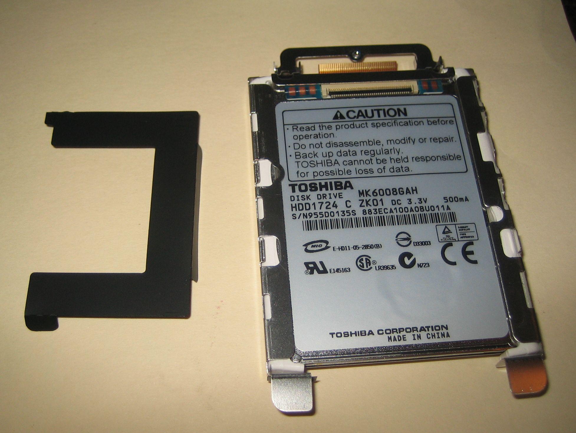 X60 HDD