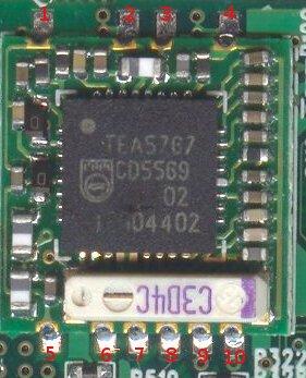 FM module pinout