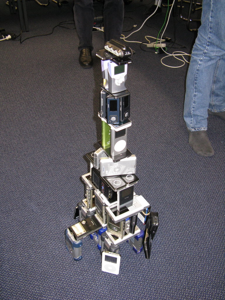 A Tower. Of Rockbox.