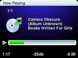 iPod Vision 5G Album Art
