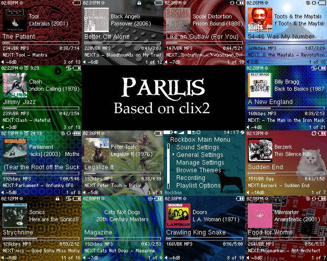 Parilis Screens