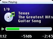 iPod Vision Nano screenshot