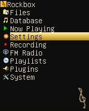 BasicBlack menu