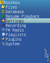 BasicBlue menu